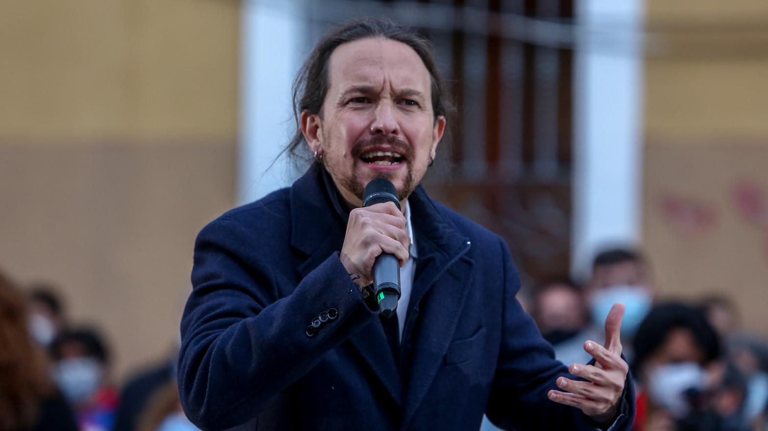 """Iglesias asegura que """"la ultraderecha"""" trata de """"infiltrarse en la policía"""""""