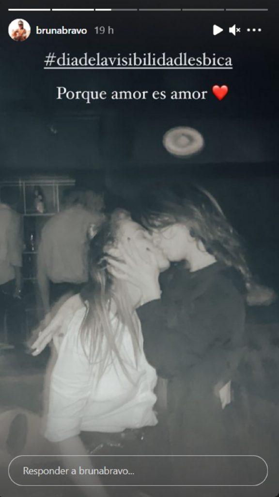 Ares Teixidó presenta a su novia Bruna en Instagram