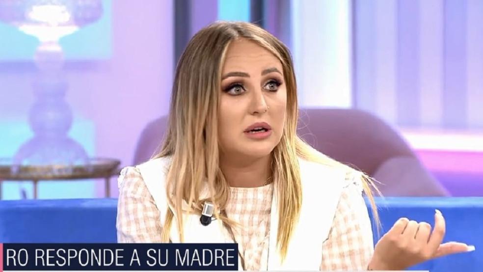 """Rocío Flores le manda un mensaje a su madre tras llamar """"sinvergüenza"""" a Olga Moreno"""