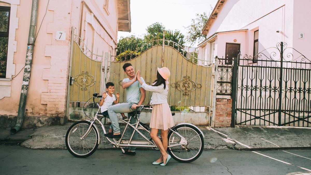 Rutas familiares en bicicleta