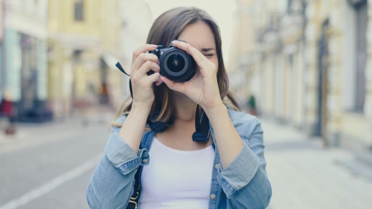 Madre amante de la fotografía