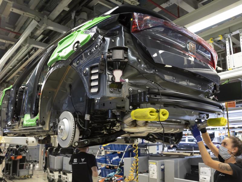 La automoción creó en España en el primer trimestre casi 20.000 nuevos empleos