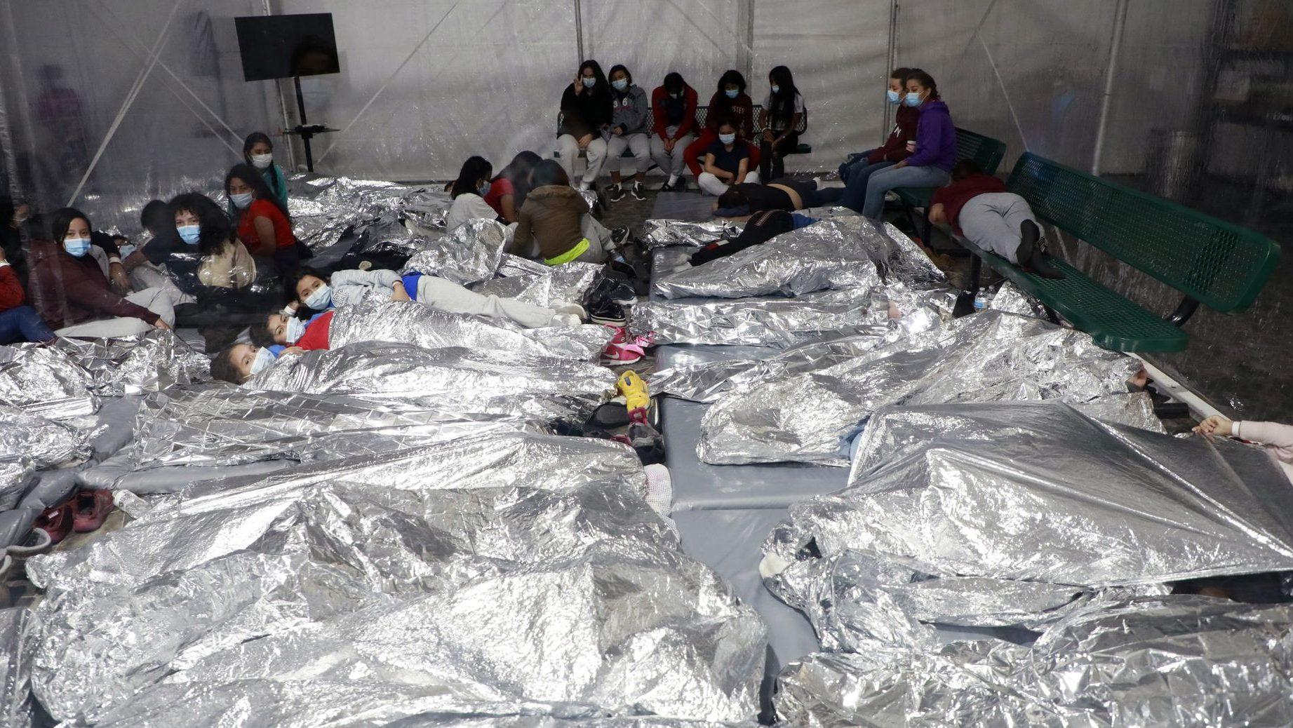 Centro de detención en Texas (EEUU).