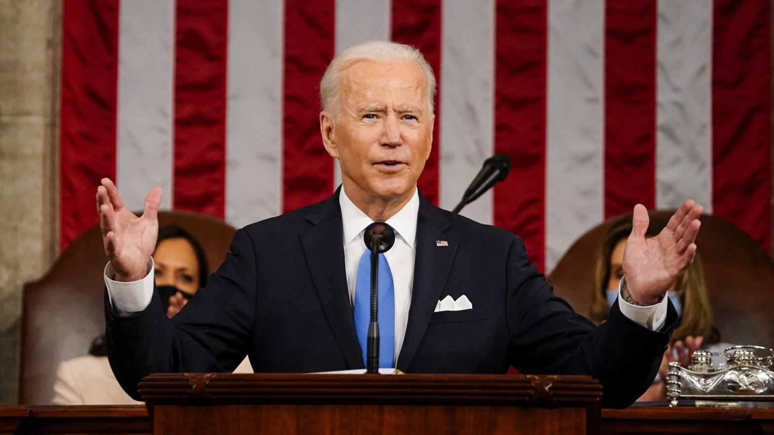 El primer discurso de Biden: más impuestos a los ricos, armas y la crisis migratoria