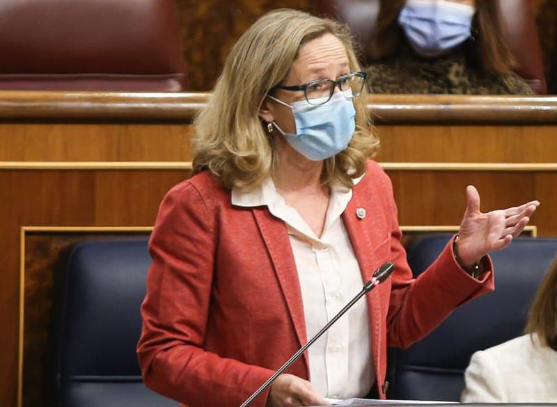 La vicepresidenta segunda y ministra de Asuntos Económicas, Nadia Calviño.