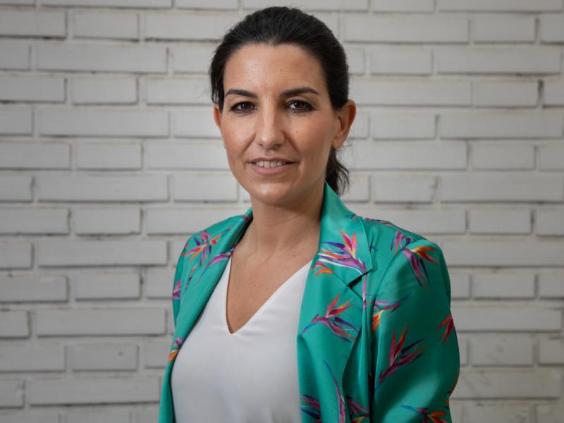 Rocío Monasterio en la entrevista con Vozpópuli