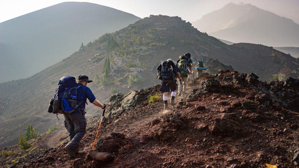 senderismo deporte aire libre ejercicio montaña
