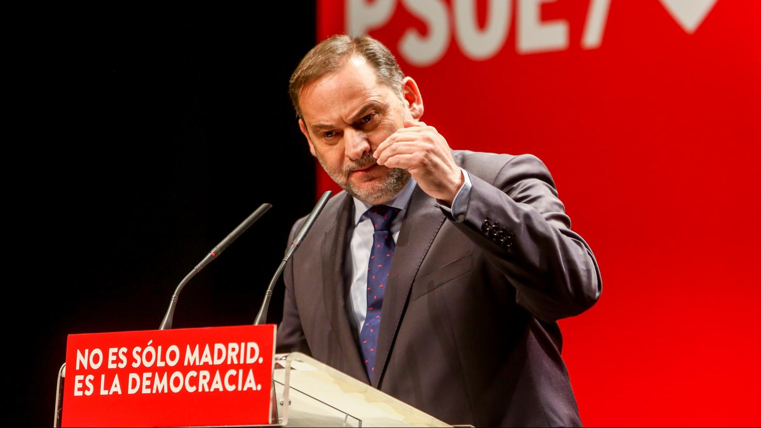 """Ábalos sostiene que el Gobierno de Madrid es lo más """"parecido"""" a una dictadura"""