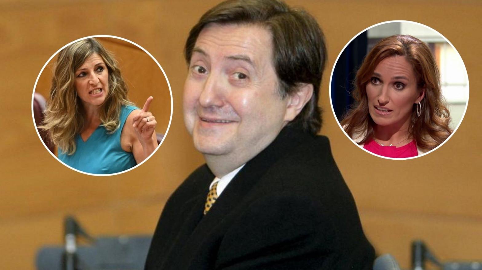 Losantos carga contra Mónica García y Yolanda Díaz y las acusa de mentir y fingir orgasmos