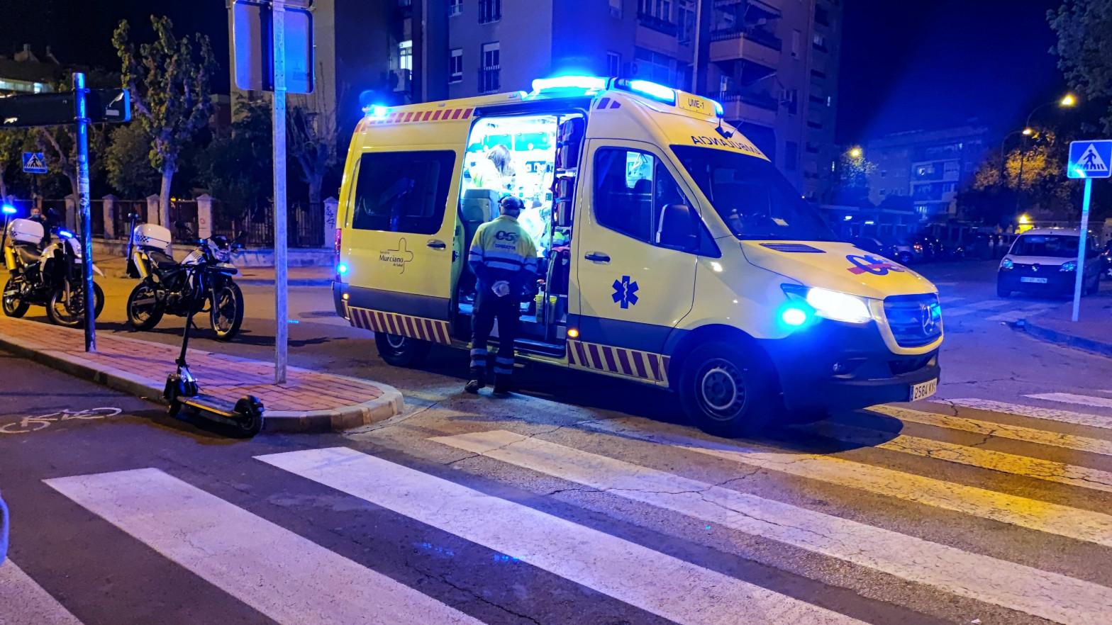 Muere un niño de de 1 año tras ser atropellado por un camión Murcia
