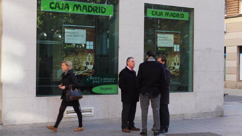 Una de las sucursales de Caja Madrid