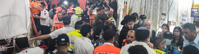 Al menos 44 muertos y 100 heridos en una estampida en un festival religioso judío en Israel