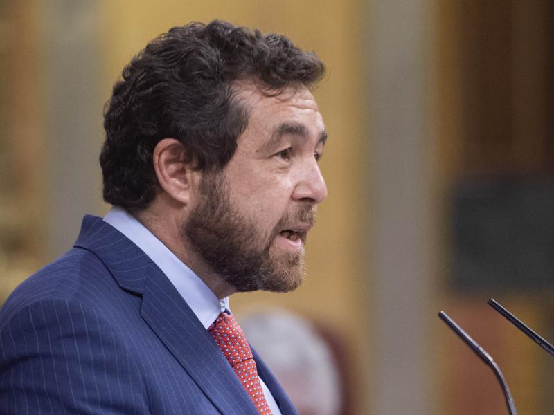 """Cs pide al Gobierno aclarar en el Congreso si Interior """"ocultó"""" la detención de escoltas de Podemos tras el mitin de Vox"""