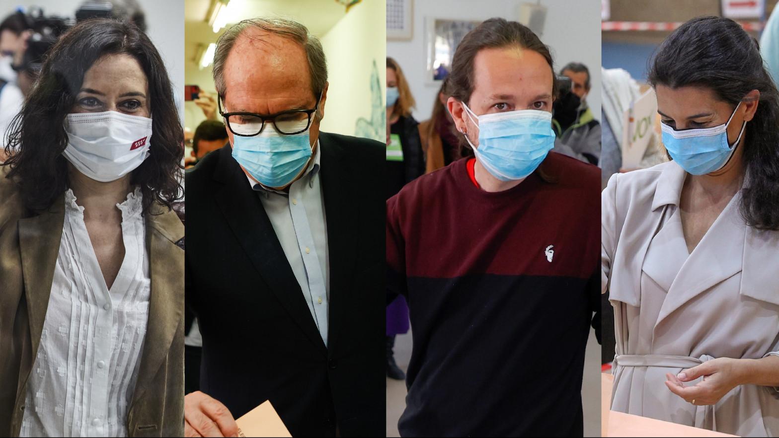 El estilismo de los candidatos a presidente de la Comunidad de Madrid el 4-M