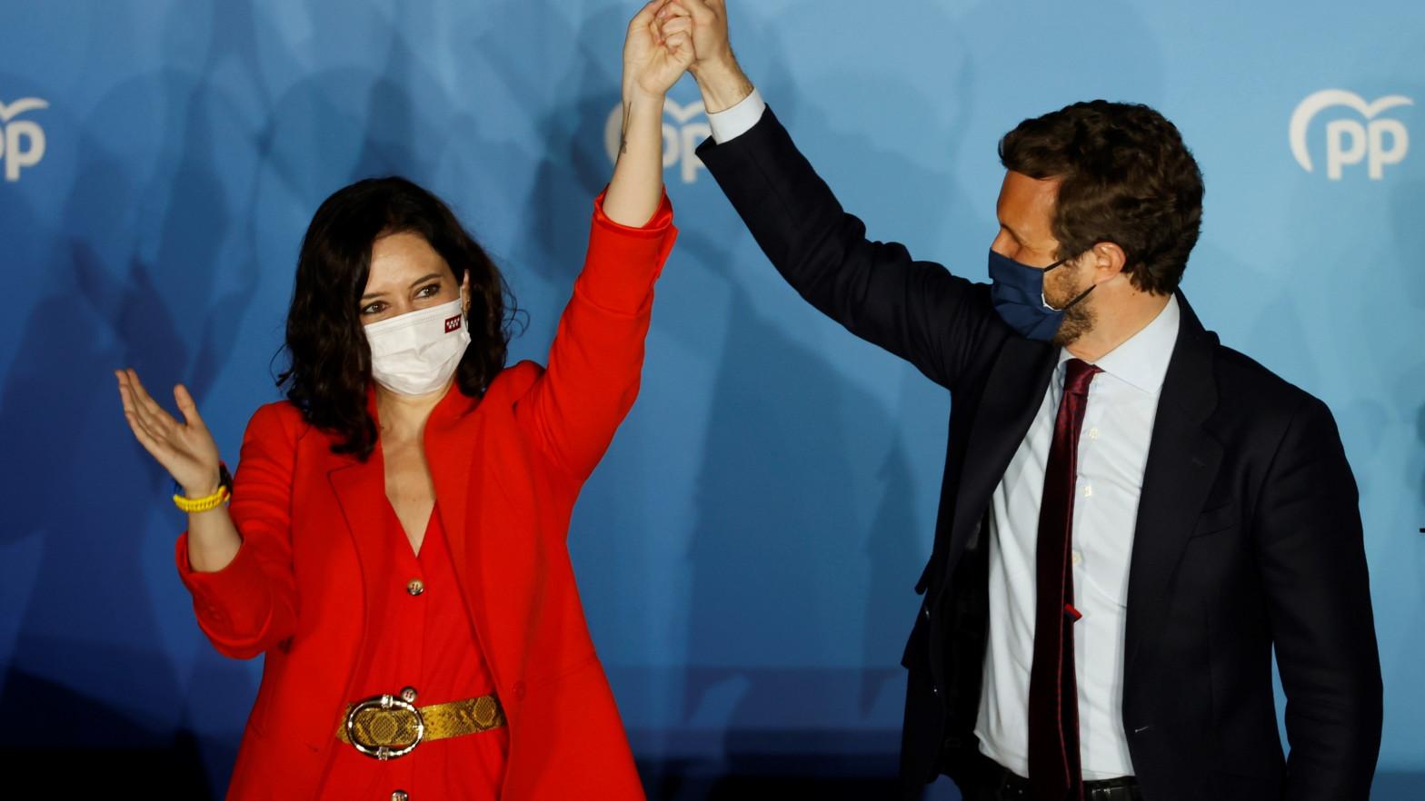 Las elecciones en Madrid encumbran a Ayuso, da un portazo a Pedro Sánchez y echa a Pablo Iglesias de la política