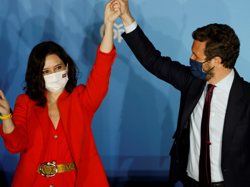 La prensa británica señala a Ayuso como la oposición de Sánchez