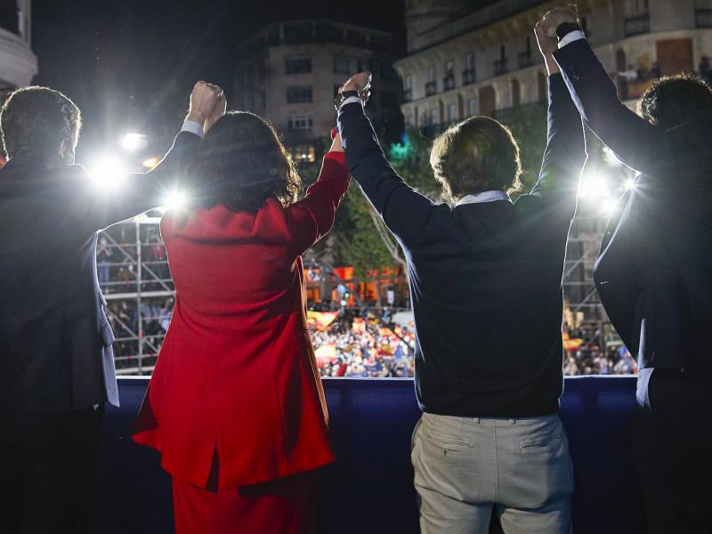 El Ibex registra fuertes subidas en la resaca electoral de Madrid