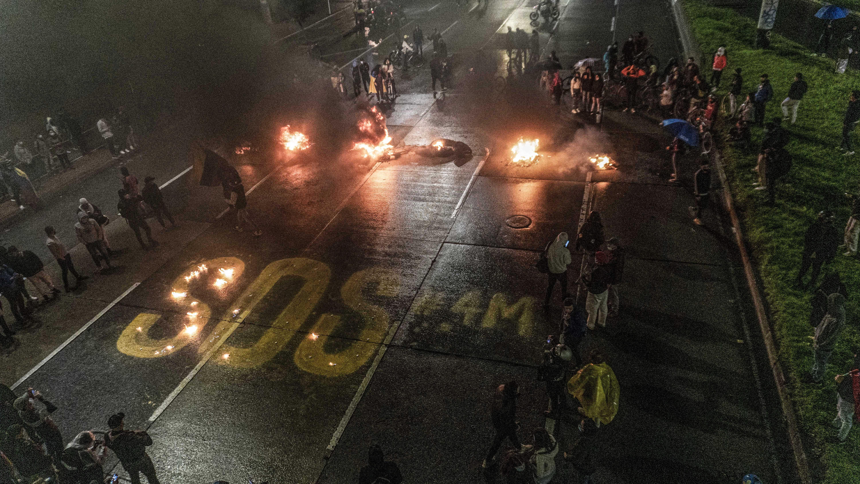 Protestas en Bogotá (Colombia)