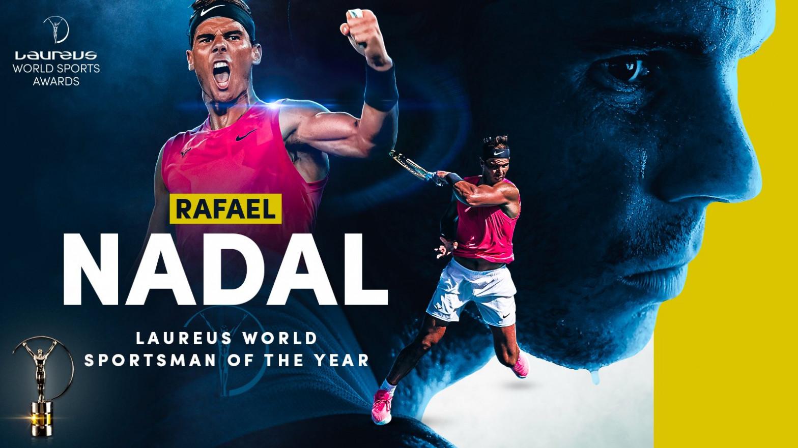 Rafael Nadal gana el Premio Laureus al mejor deportista del año