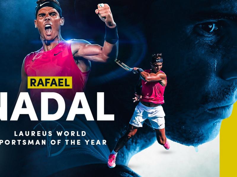 Rafa Nadal gana el Premio Laureus al mejor deportista del año