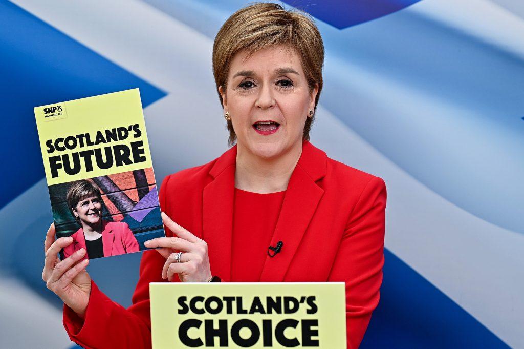 La líder del Partido Nacional de Escocia (SNP), Nicola Sturgeon.