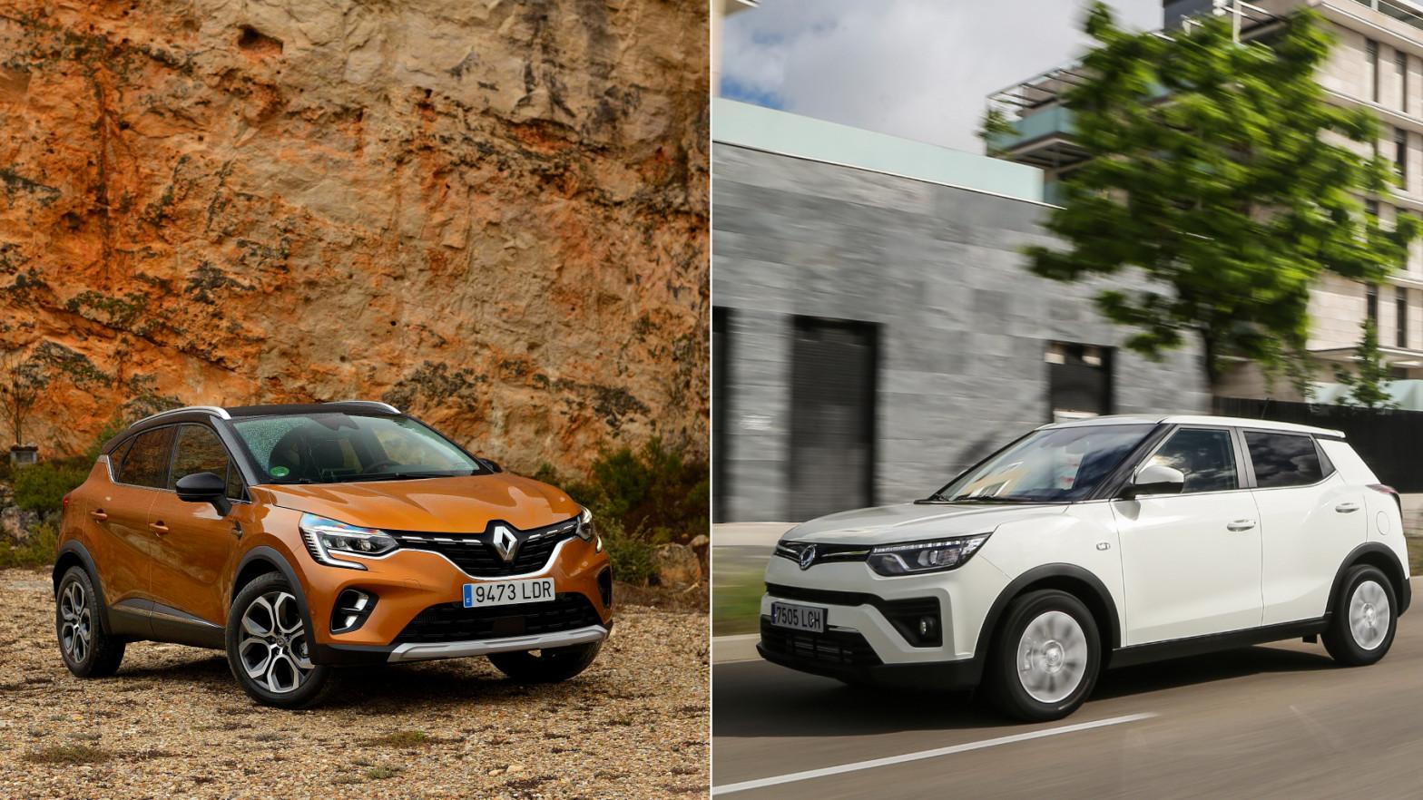 Captur y Tivoli GLP, dos alternativas al coche eléctrico mucho más asequibles