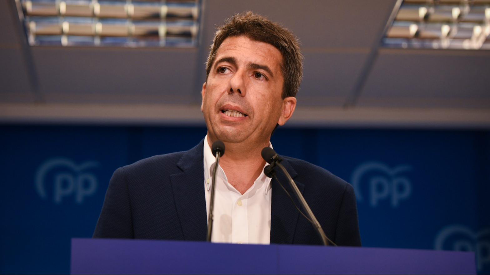 """Carlos Mazón presenta su candidatura a liderar el PP de valencia con un """"proyecto para todos y para ganar"""""""