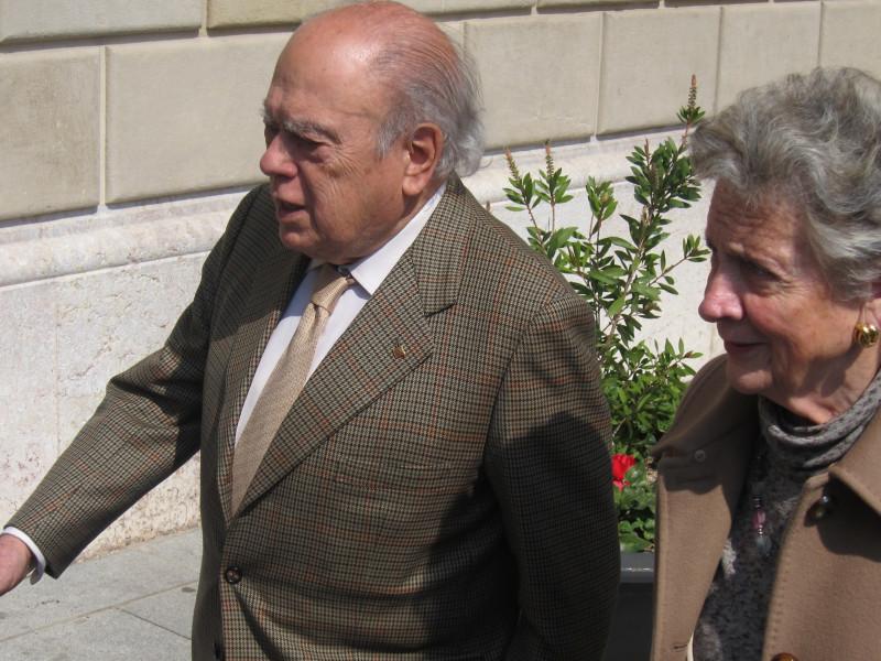 El juez del 'caso Pujol' archiva la investigación contra Marta Ferrusola.