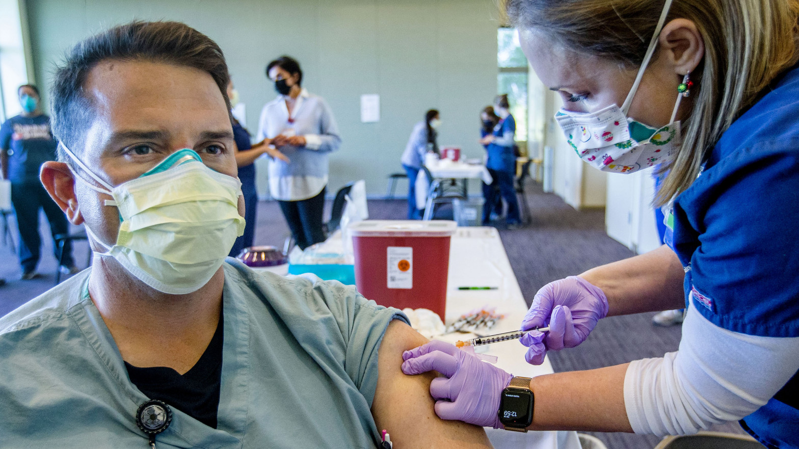 EEUU supera las 250 millones de vacuna: el 60% de ciudadanos tiene al menos una dosis