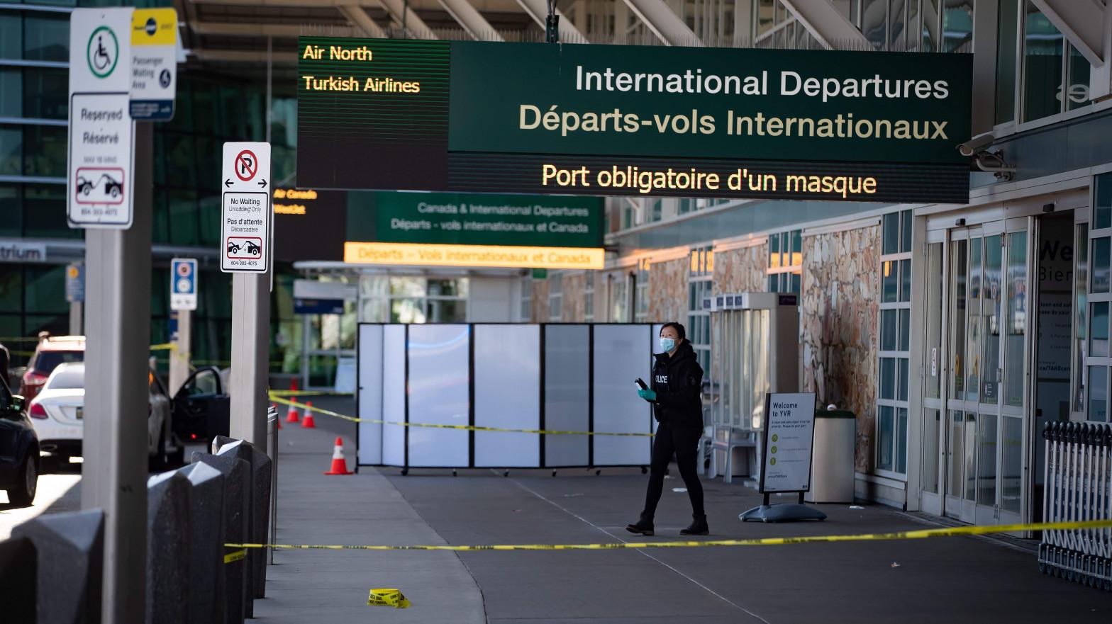 Un muerto tras un tiroteo en el aeropuerto de Vancouver (Canadá)