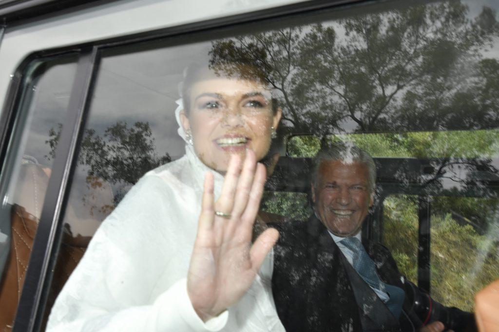 Alejandra Ruiz Rato, junto a su padre el torero Espartaco