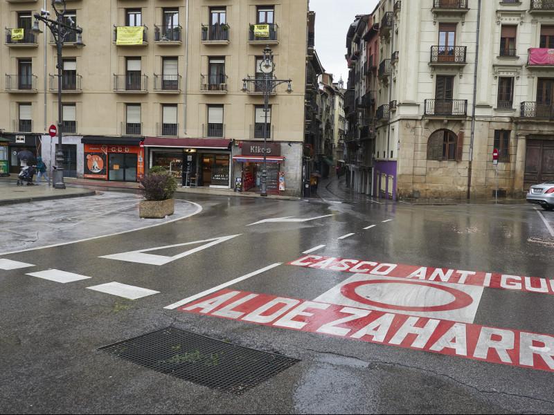La Fiscalía de Navarra se opone al toque de queda dictado por el Gobierno foral sin estado de alarma