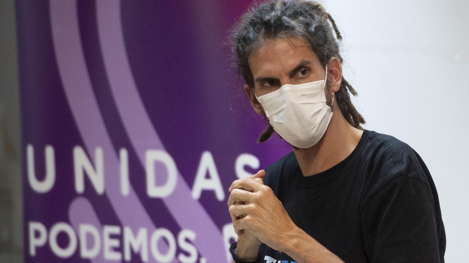 La Fiscalía pide seis meses de cárcel para Alberto Rodríguez (Podemos) por golpear a un policía