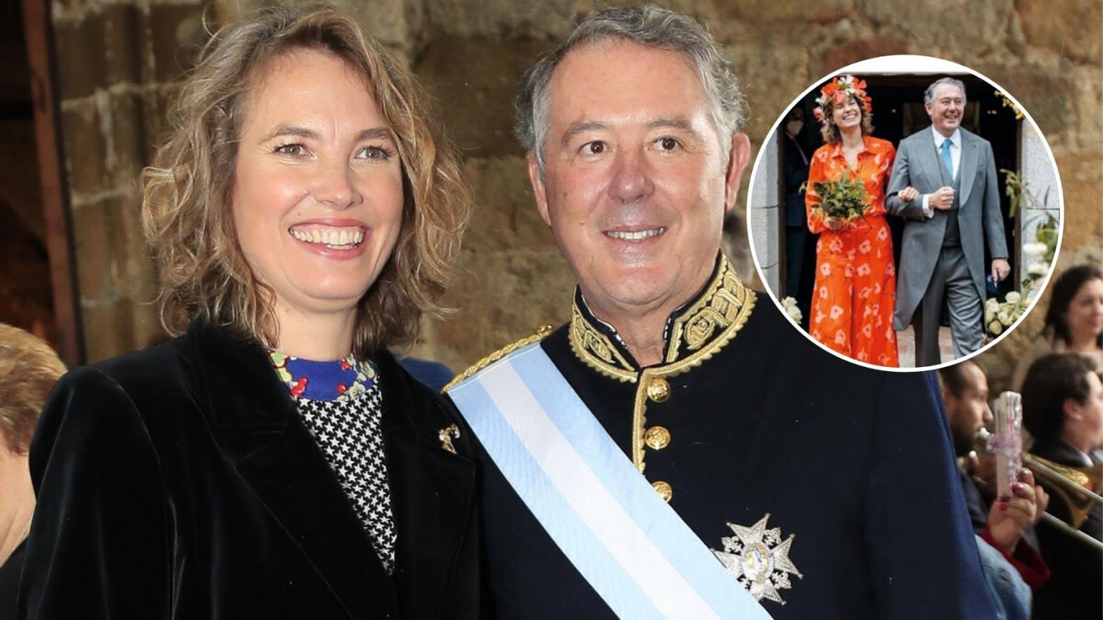 Así fue la boda 'hippie' de José María Michavila y Alejandra Salinas