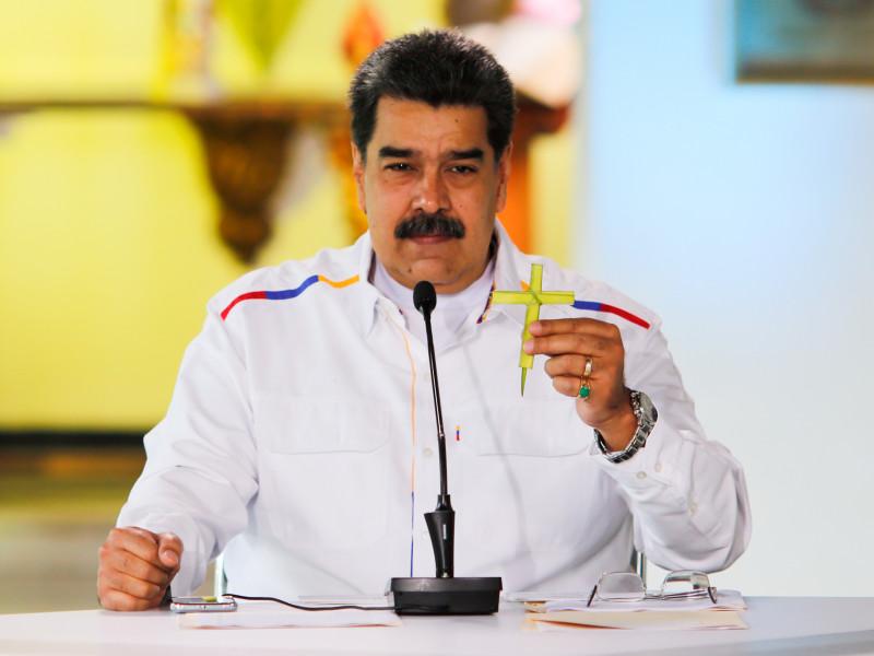 """Maduro acusa a Guaidó de querer negociar porque está """"aislado y derrotado"""""""