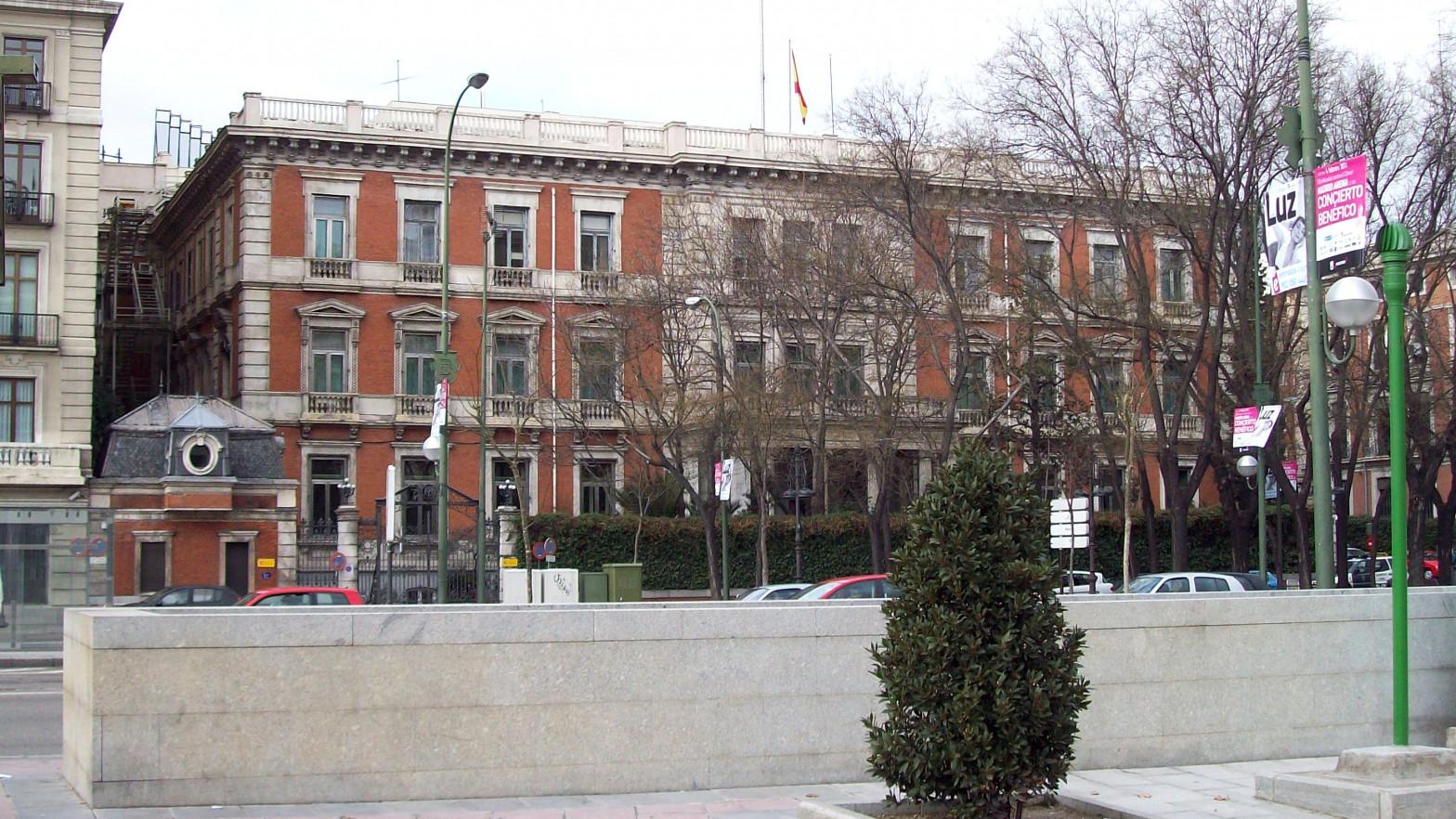 El ministerio de Iceta gastará 9,5 millones en reformar su palacete de Castellana