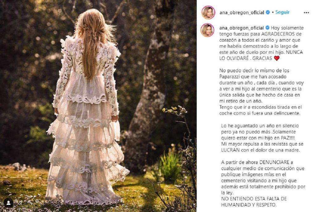 Ana Obregón estalla y anuncia demandas por el acoso que está recibiendo