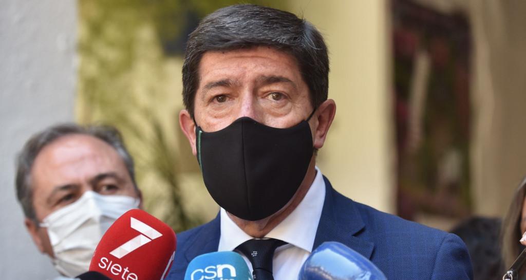 Juan Marín, de Ciudadanos Andalucía, perdería 17 escaños, según una encuesta.