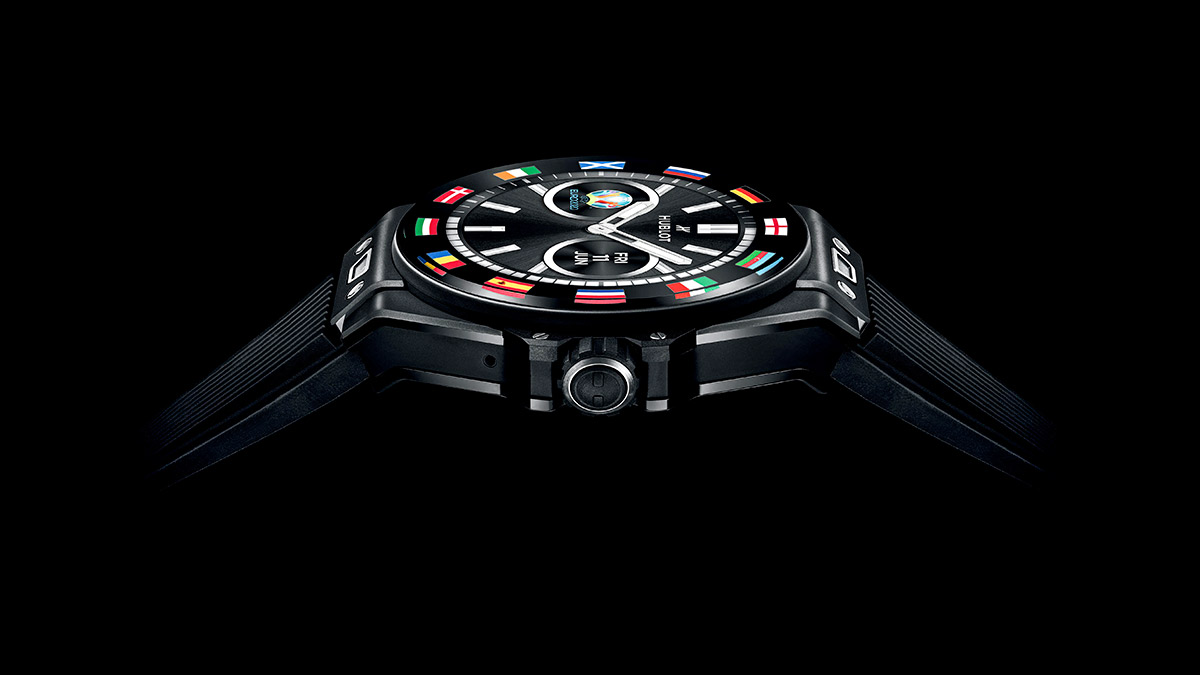 Hublot presenta el 'Big Bang e', el primer reloj oficial de la UEFA Euro 2020
