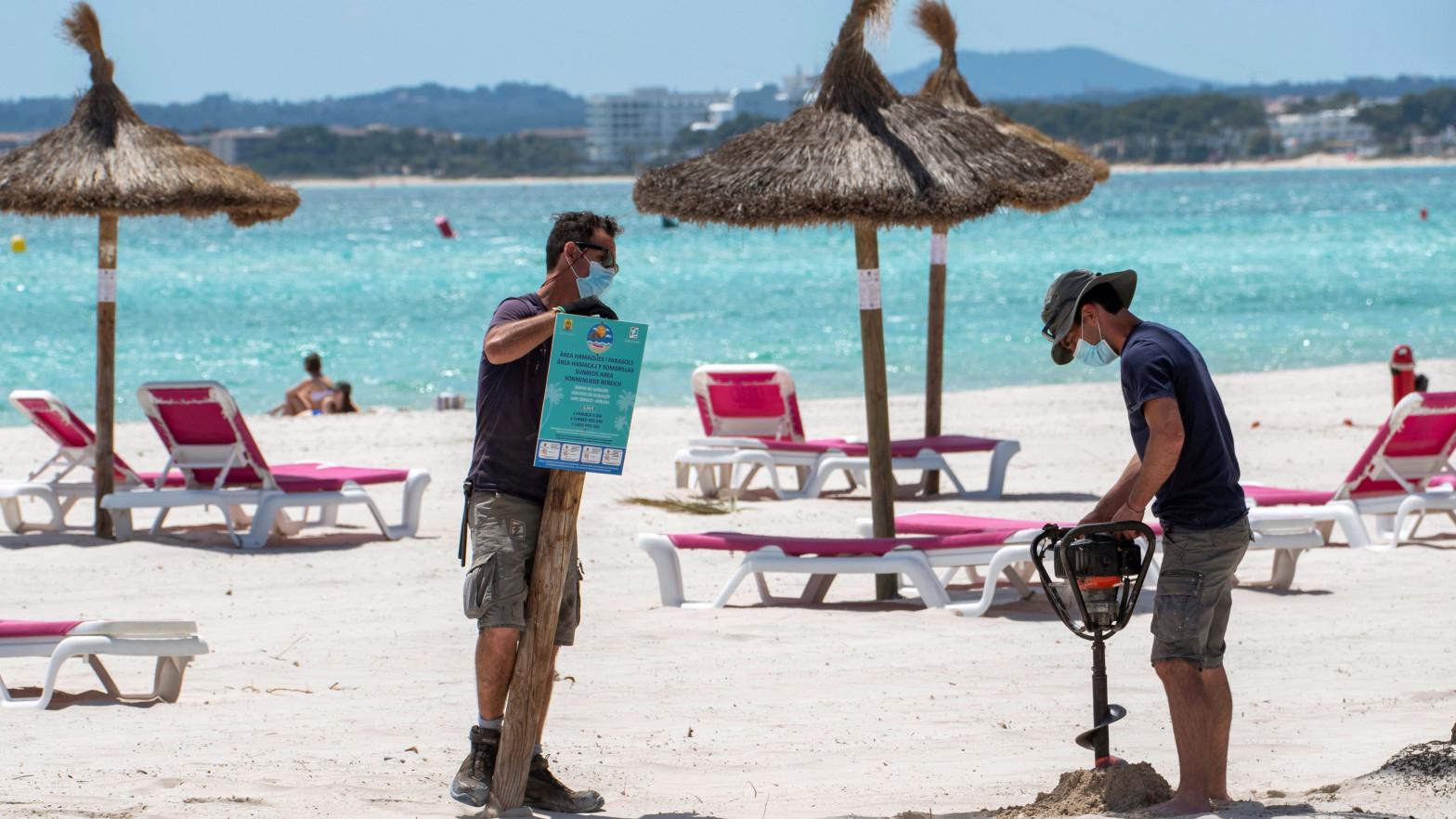 Las nuevas playas con bandera azul en España