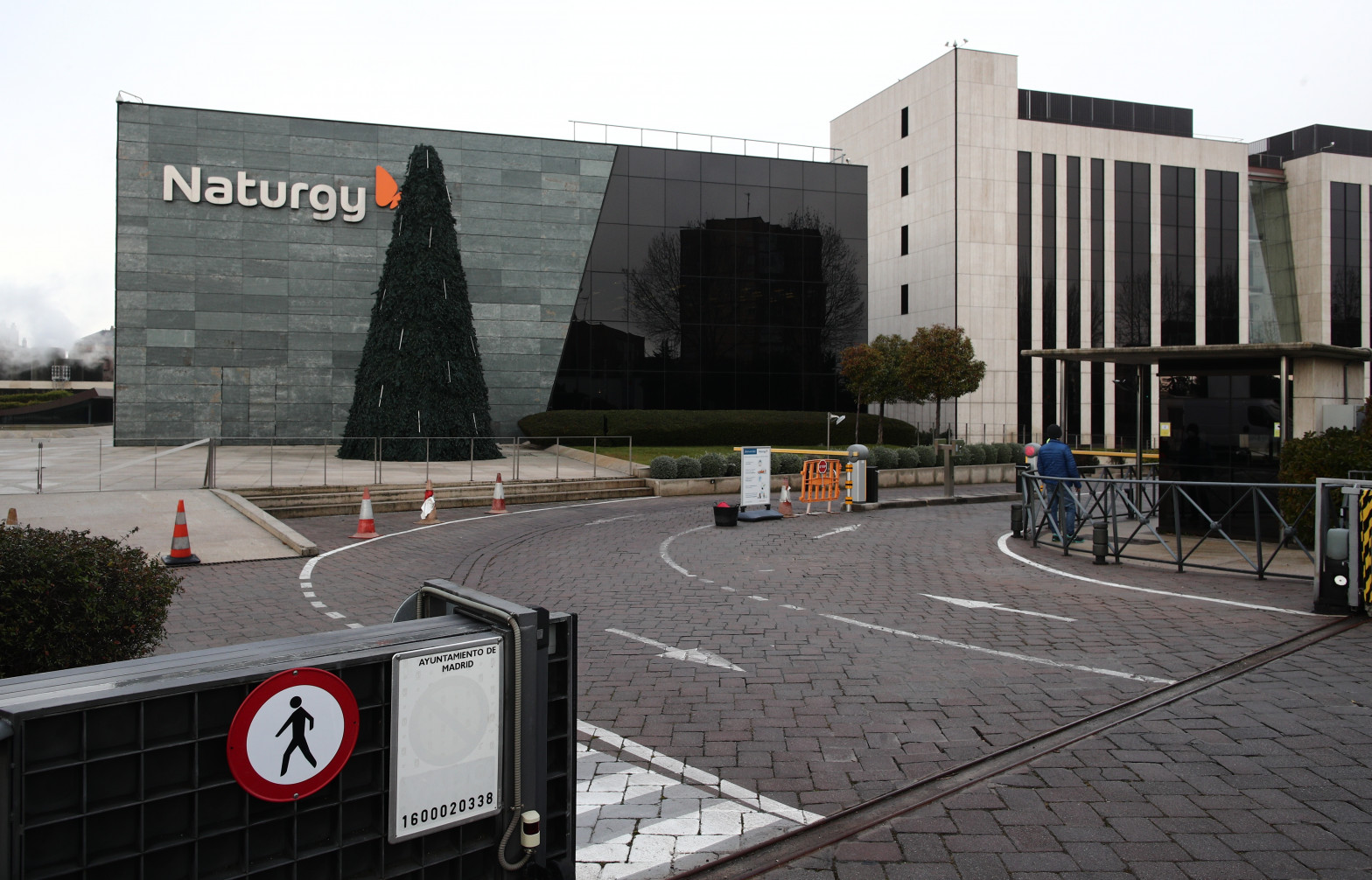 Oficina de Naturgy ubicada en la capital, Madrid, (España),