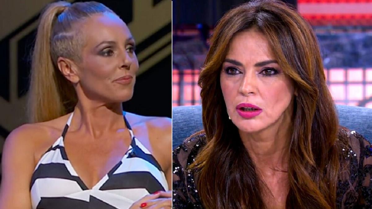 """Rocío Carrasco intentó agredir Olga Moreno: """"Es una sinvergüenza. No tiene c***, ni lo que hay que tener"""""""