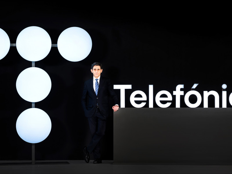 Telefónica dispara un 118% su beneficio hasta los 886 millones en el primer trimestre