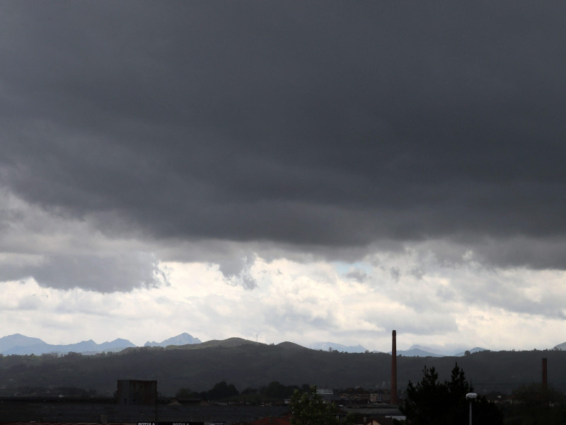 Lluvias en la mitad norte, que pueden ser fuertes en el oeste de Galicia