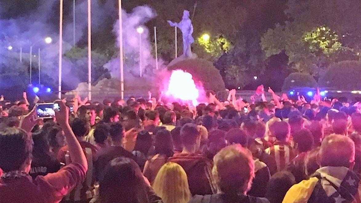 Delegación del Gobierno pide no acudir a celebraciones si el Atlético gana la Liga este domingo