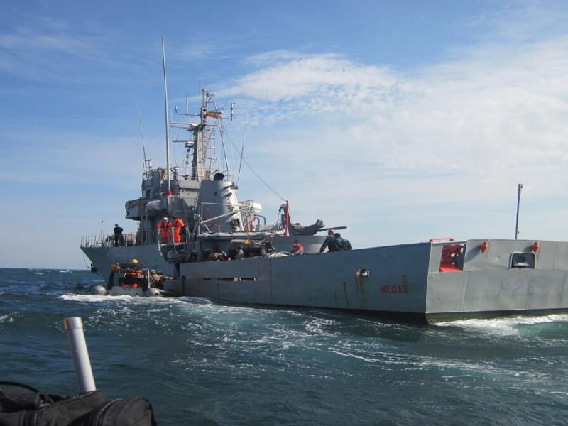 """Defensa envia a la fragata """"Navarra"""" a una operación de combate a la piratería en el Índico"""