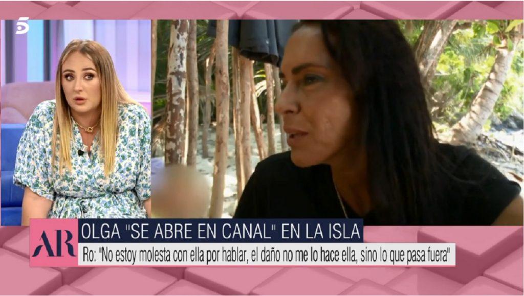 Rocío Flores responde a los ataques de su madre contra Olga Moreno