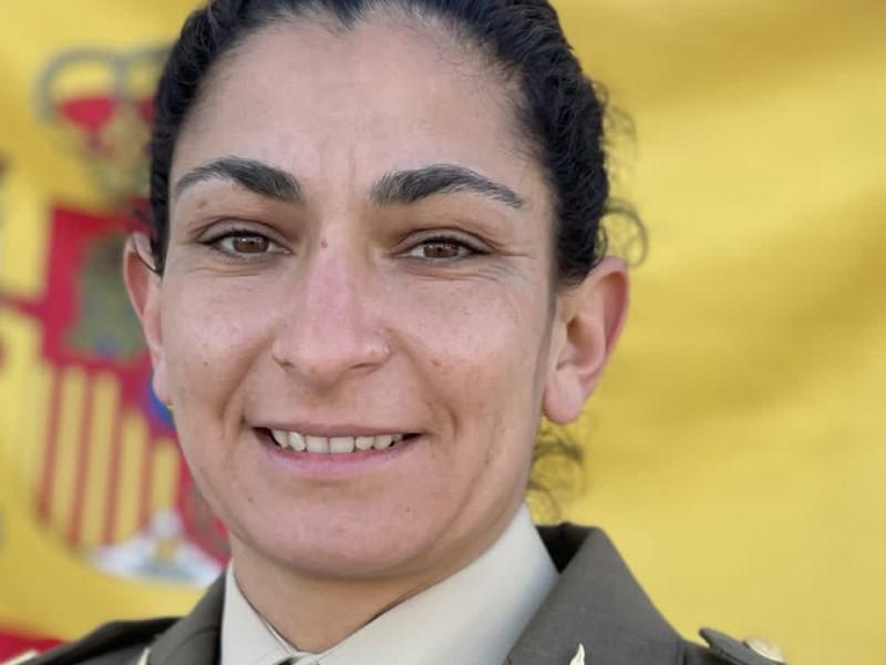 La sargento Débora Grau Serra