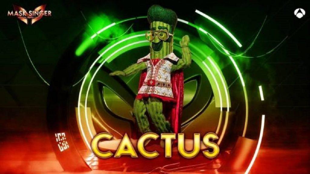 Cactus, máscara de 'Mask Singer 2'