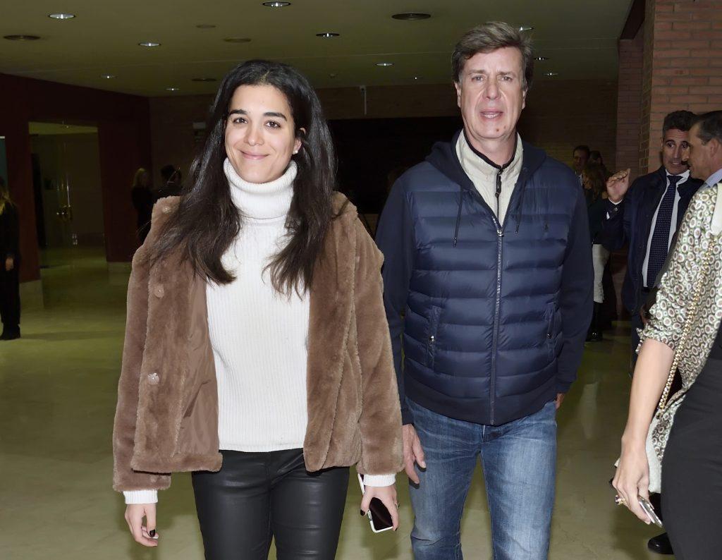Cayetano Martínez de Irujo y su novia Bárbara Mirjan